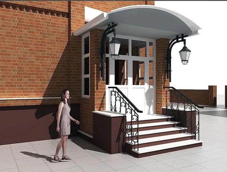 изменение фасада дома